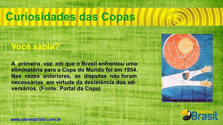 Primeira eliminatória do Brasil