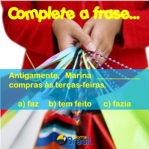Complete a frase2 shopping